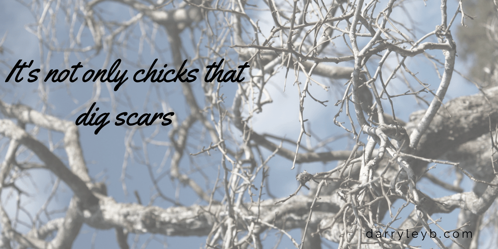 Its-not-only-chicks-that-dig-scars