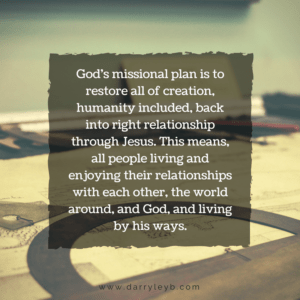 God's Mission Plan