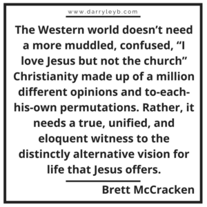 Christianity should be uncomfortable